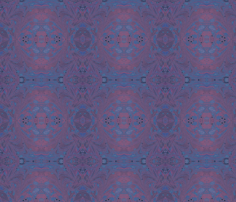 Pink_Ink_Plus Bluegrey fabric by elise_camp on Spoonflower - custom fabric