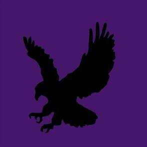 Eagle on Purple Swatch