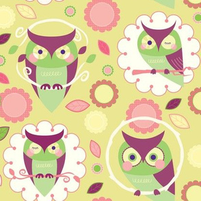 Owls on Dots