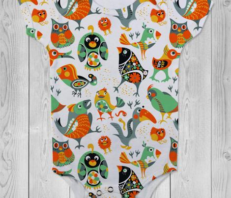 Birds Pattern 2