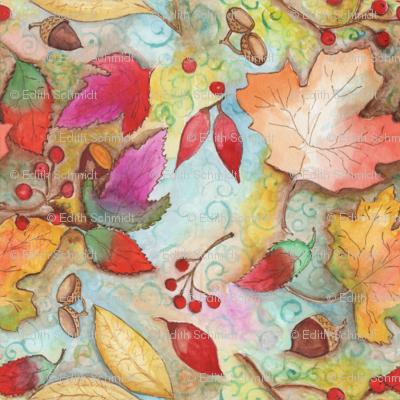 autum_leaves_seed_pattern_