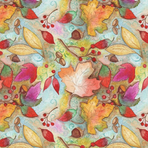 autum_leaves_seed_pattern_