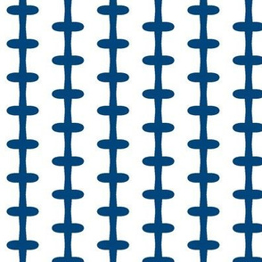 Barbed Wire Zig (dark blue)