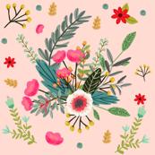 Boho Pink Floral