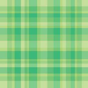 Retro Green Plaid