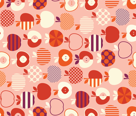 afterschoolsnackrotate-07 fabric by katerhees on Spoonflower - custom fabric