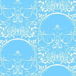 Ice Skulls