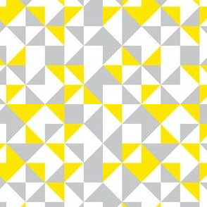 Geometric-pastel yellow