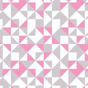 Geometric-pastel pink