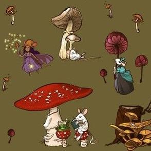 Mushroom Mice