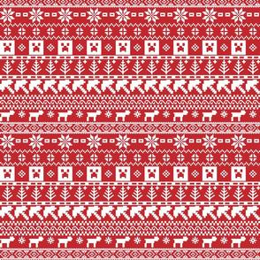 8-bit Christmas Sweater