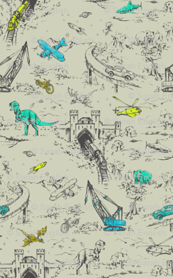 Adventure Toile mini