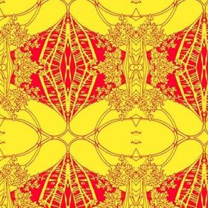 Ornamental Crimson and Golden