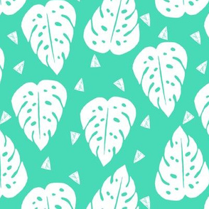 monstera // tropical summer kids 2016 tropical palm print tropical trend