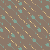 Arrows teal yellow