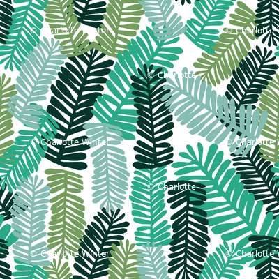 Palm print tropical palm baby kids summer tropical trend for Kids print fabric