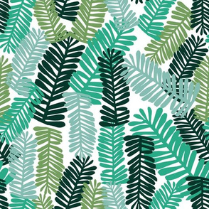 palm print tropical palm baby kids summer tropical trend