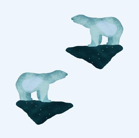 Polar Bears fabric by arts_and_herbs on Spoonflower - custom fabric
