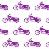 Purple Harleys // Small