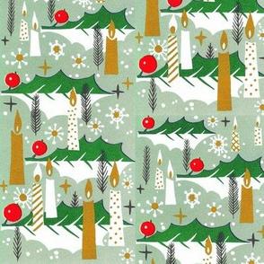 Mid Century Modern  Retro Christmas Design
