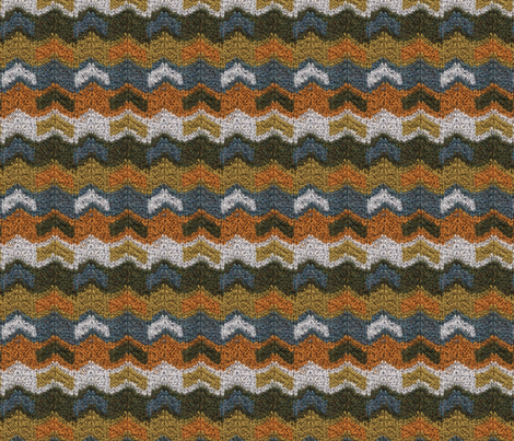 Flying V's Knit fabric by leethal on Spoonflower - custom fabric
