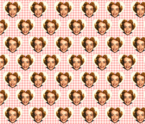 Love Joan fabric by hollywood_royalty on Spoonflower - custom fabric