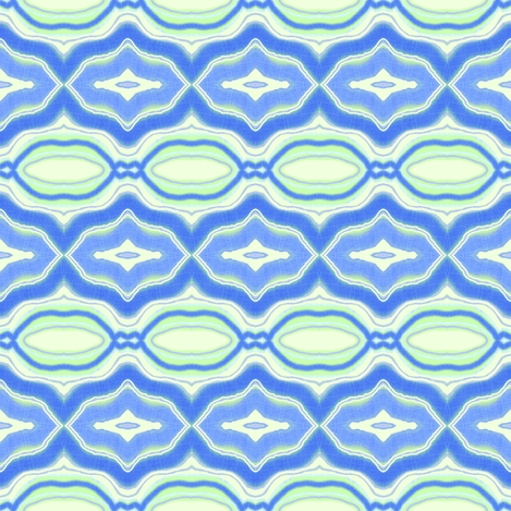 Blue and Green Formal fabric by robin_rice on Spoonflower - custom fabric
