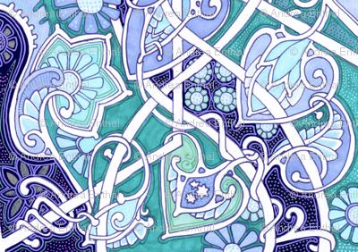 Meandering Spade-Flower Blues