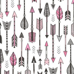 Arrows in Pink
