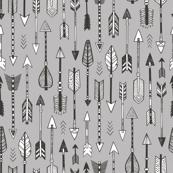 Arrows on Grey