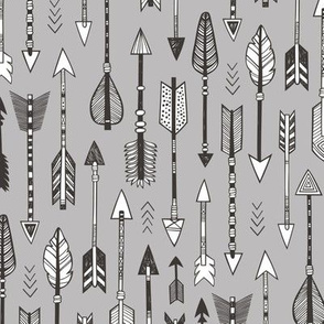 Arrows on Grey