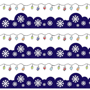 Colorful Christmas lights - Medium