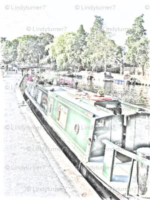 Narrow Boat Drawing
