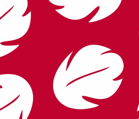 Lilo Hawaiian Adult D Red fabric by aimee on Spoonflower - custom fabric