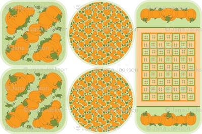 Pumpkin Patch Trivets