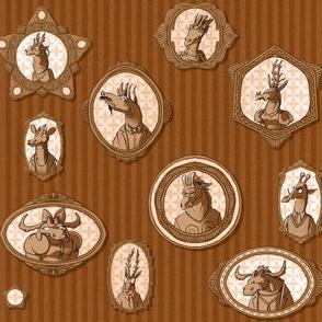 Giraffidae Family Portraits