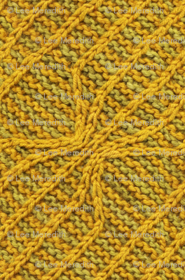 Yellow Lines Knit