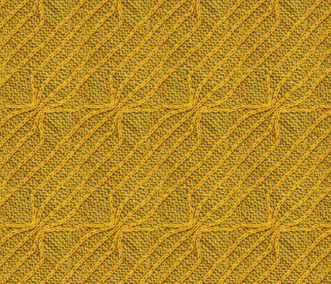 Yellow Lines Knit fabric by leethal on Spoonflower - custom fabric