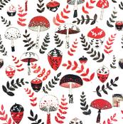 Mushroom & Acorn Forest