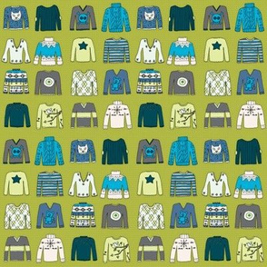 Winter Woolies (BlueGreen coordinate)