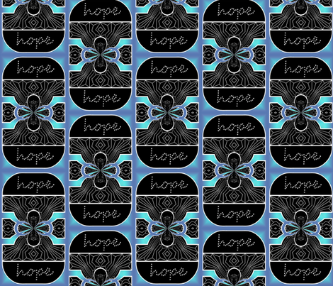 Windows of Hope fabric by esheepdesigns on Spoonflower - custom fabric