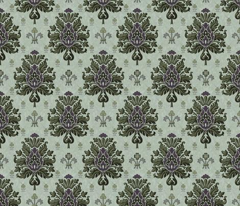 Damassé Français 1e fabric by muhlenkott on Spoonflower - custom fabric