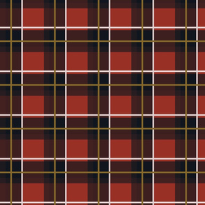 Academy Cafe Plaid