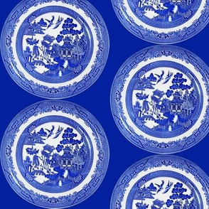 Willow Pattern Blue