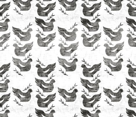 swift_dove_light fabric by holli_zollinger on Spoonflower - custom fabric
