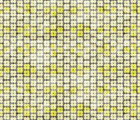 swift_geo_floral_lemon fabric by holli_zollinger on Spoonflower - custom fabric