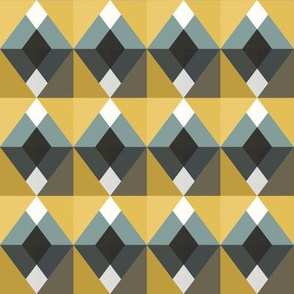 Geometric Diamond Blocks