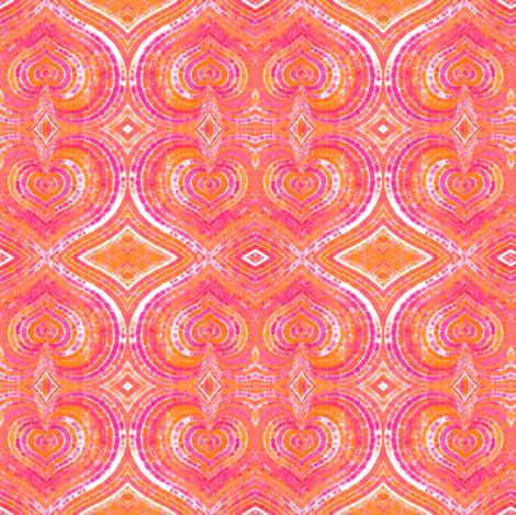hearts fabric by janbalaya on Spoonflower - custom fabric