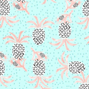 Tropicana Pineapple (aqua)