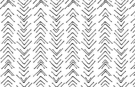 veeve in black and white fabric by eleventy-five on Spoonflower - custom fabric